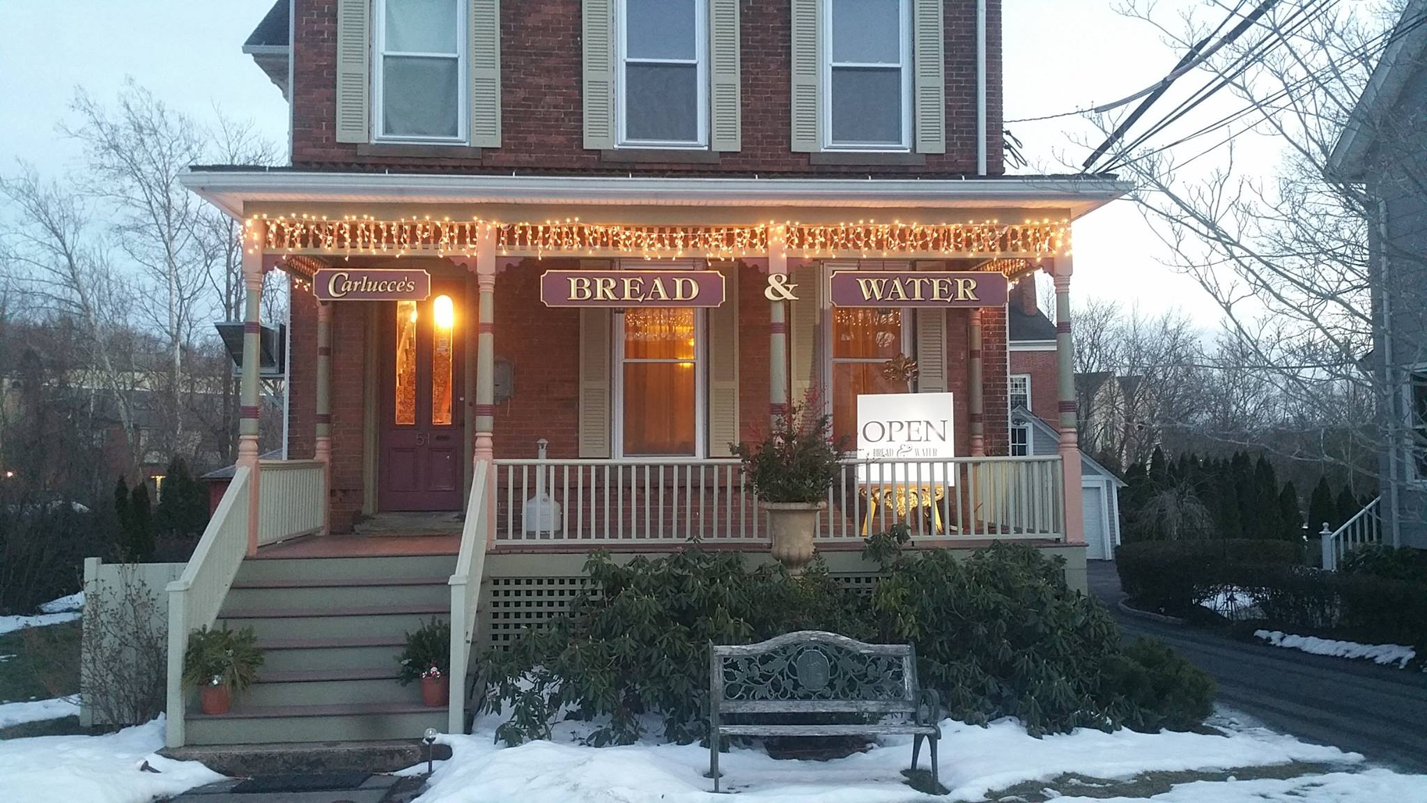 Bread And Water Restaurant In Connecticut Was Formerly A