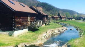 This Log Cabin Campground In West Virginia May Just Be Your New Favorite Destination