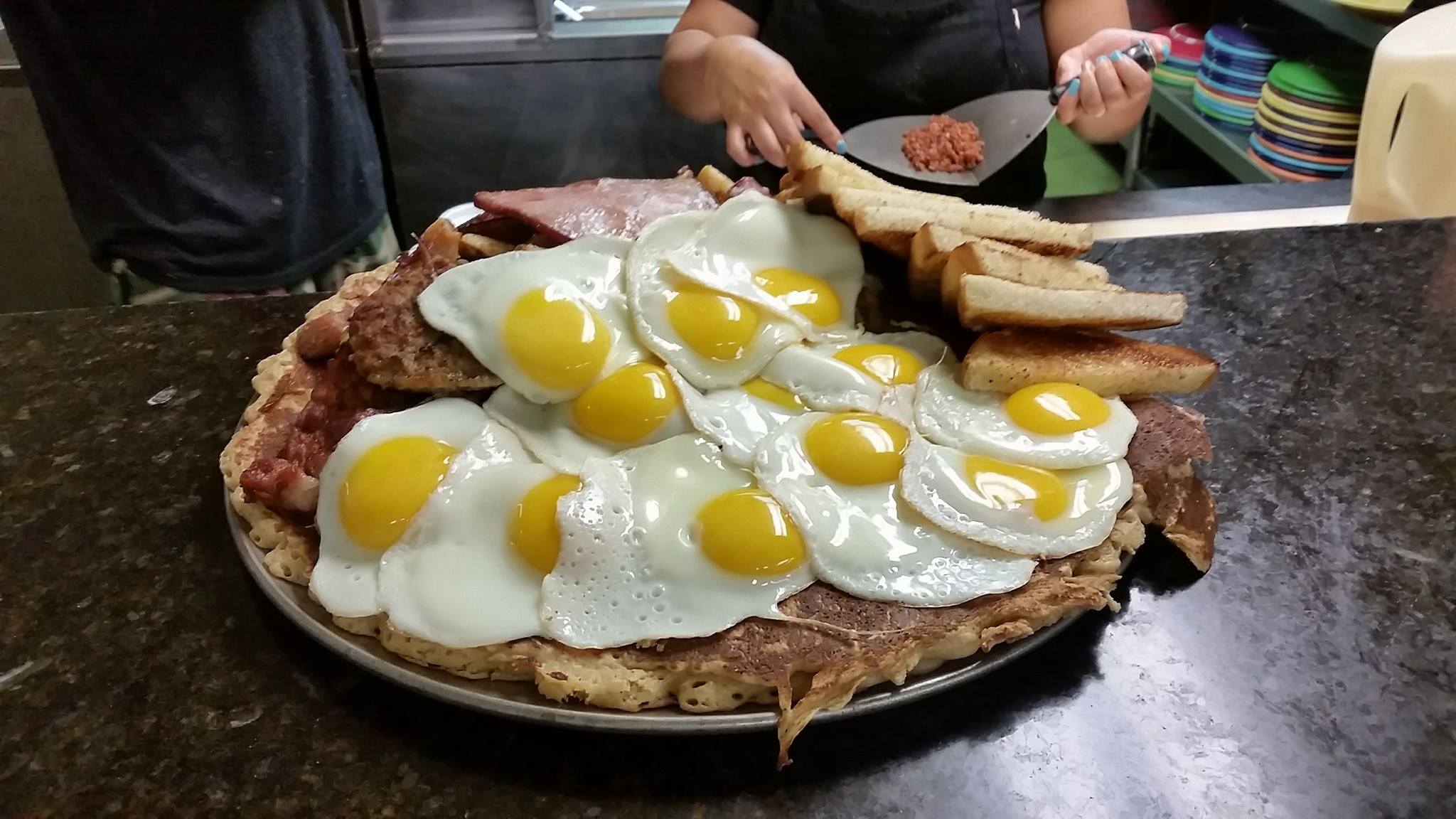This Insane Food Challenge At That Breakfast Place In