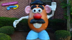 Few People Know Where All Of Rhode Island's Mr. Potato Heads Are Now