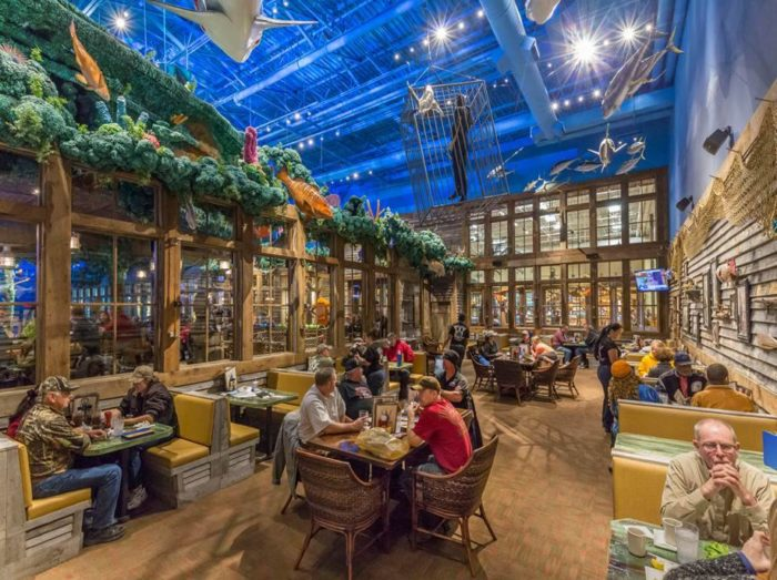This One Of A Kind Ocean Themed Restaurant And Bowling