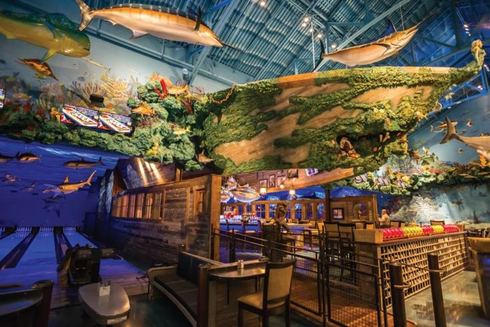 This Ocean Themed Bowling Alley And Restaurant In ...