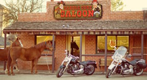 You'd Never Know This Remote Saloon Is Hiding In Southern California And It's Delightful