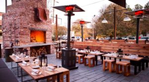 The Outdoor Dining Experience In Georgia Where You Can Feast Fireside
