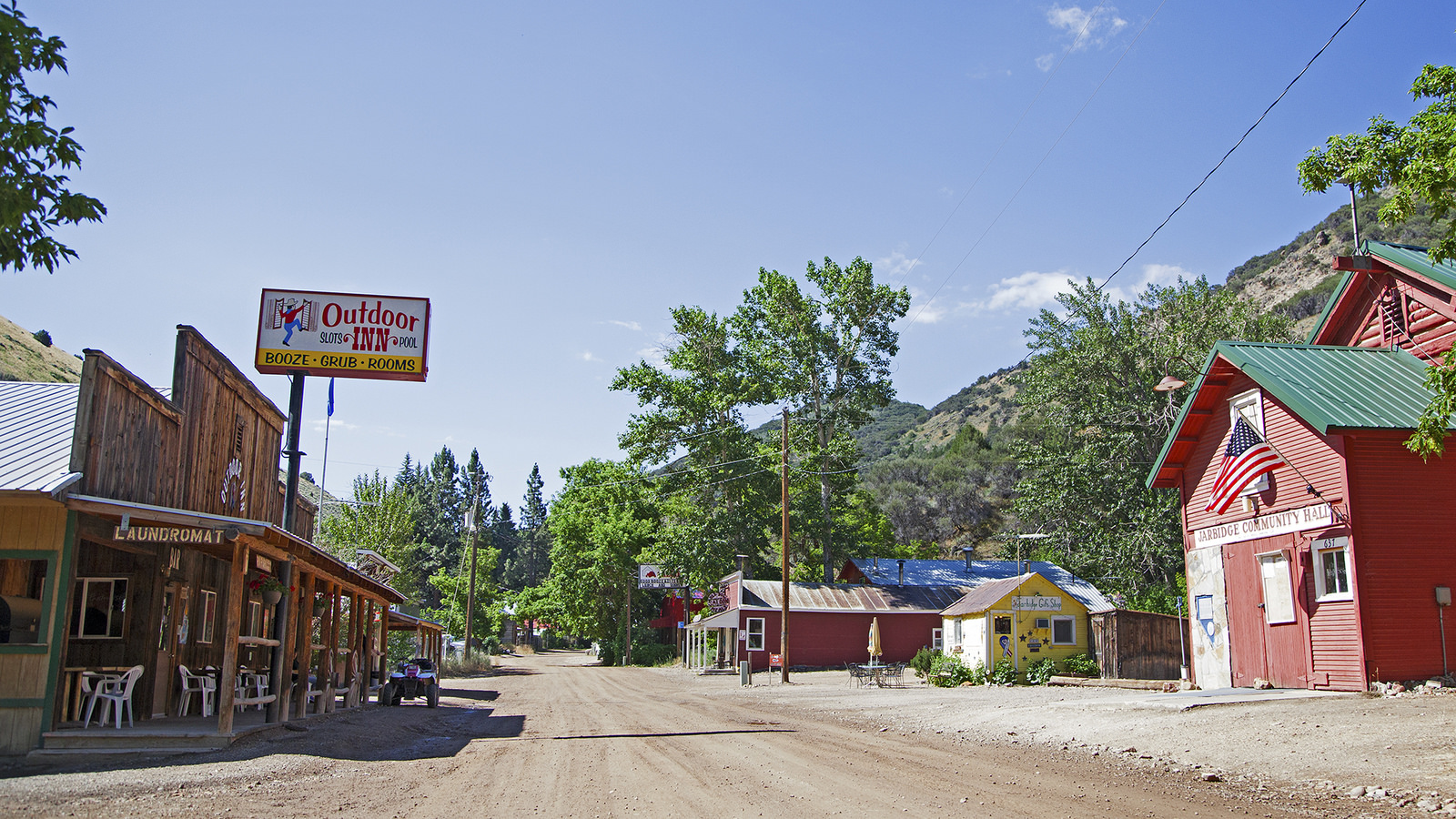 Jarbidge Nevada Is A Remote Small Town That S Worth The
