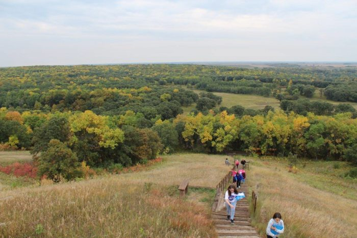 Devils Lake Nd >> Sullys Hill National Game Preserve Has The Greatest Short Hike In North Dakota