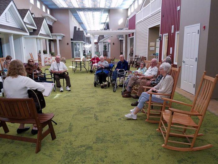 Oho Nursing Home Designed To Look Like A 1940s