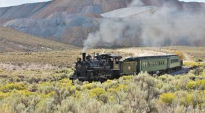 There's A Little-Known, Fascinating Train Park In Nevada And You'll Want To Visit