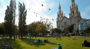 The Church In San Francisco That's Located In The Most Unforgettable Setting