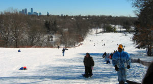 7 Epic Sledding Hills Around Minneapolis Will Make Your Winter Unforgettable
