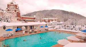 Virginia's Naturally Heated Outdoor Pool Is All You Need This Winter