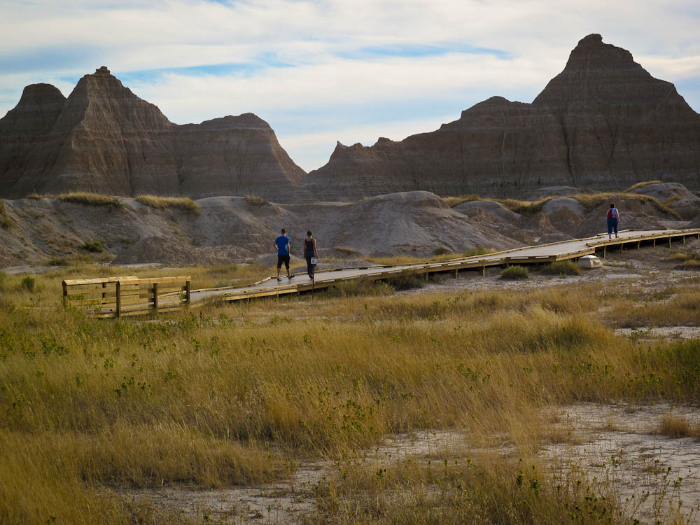 Fossil Exhibit Trail At Badlands National Park Is A Lesser