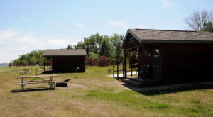 This Log Cabin Campground In North Dakota May Just Be Your New Favorite Destination
