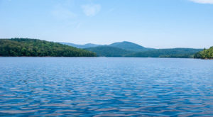Most People Have No Idea There's An Underwater Ghost Town Hiding In Vermont
