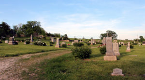The Story Behind This Ghost Town Cemetery In Kansas Will Chill You To The Bone