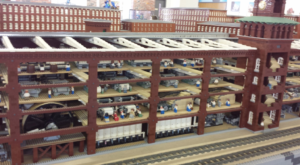 This Epic LEGO Display Uses Three Million Bricks To Showcase New Hampshire's Past