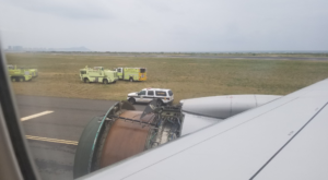 A United Airlines Engine Begin Disintegrating Mid-Flight And It Was Terrifying