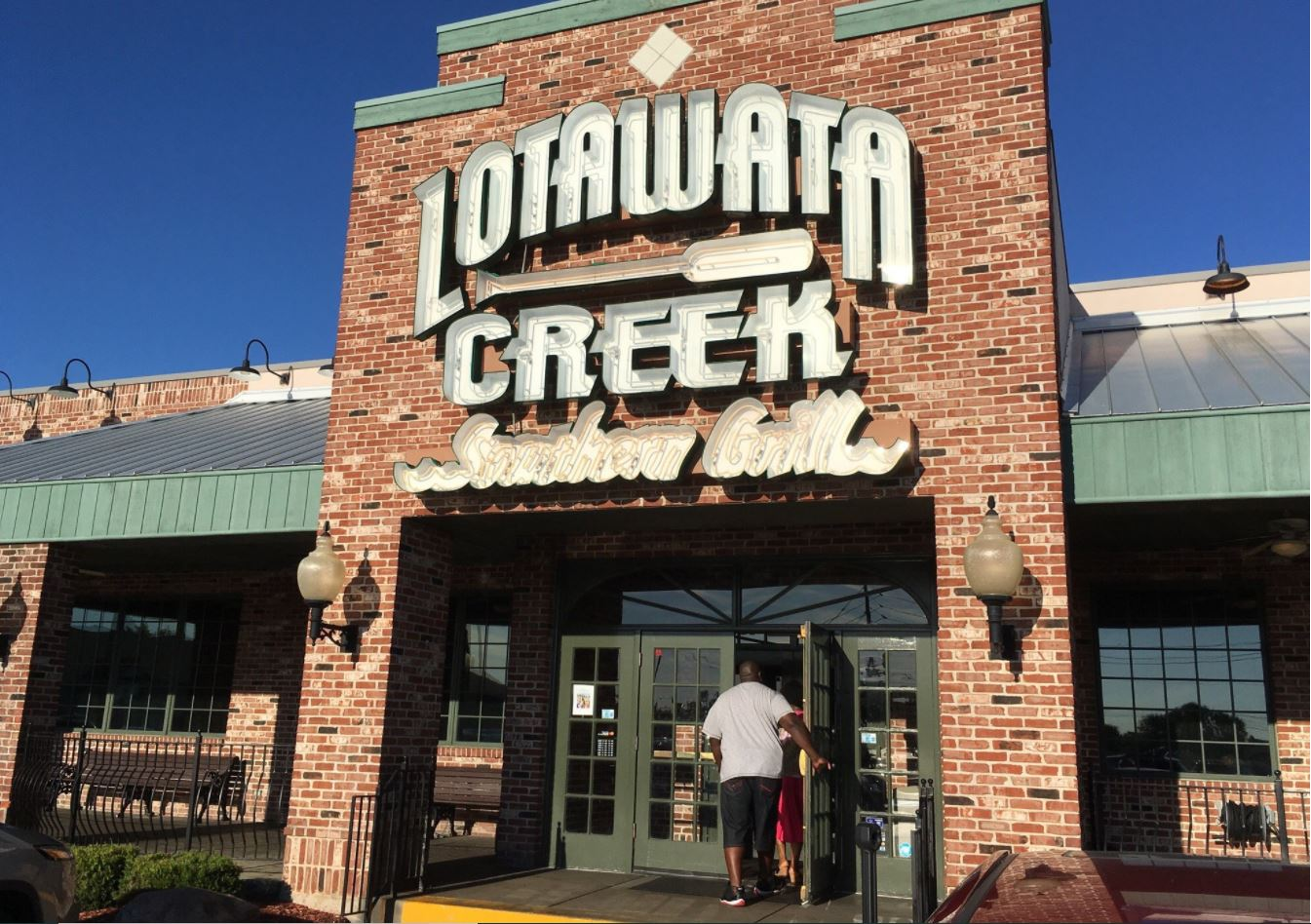 Lotawata Creek Southern Grill Has The Largest Sandwiches