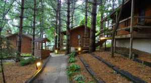 This Log Cabin Campground In Indiana May Just Be Your New Favorite Destination