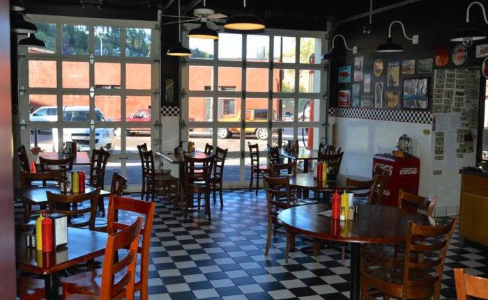 Lee Street Station Cafe In Deadwood South Dakota Has The