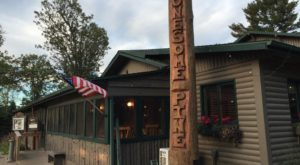 Eat Endless Walleye At This Rustic Restaurant In Minnesota