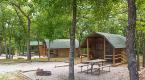 This Log Cabin Campground In Oklahoma May Just Be Your New Favorite Destination