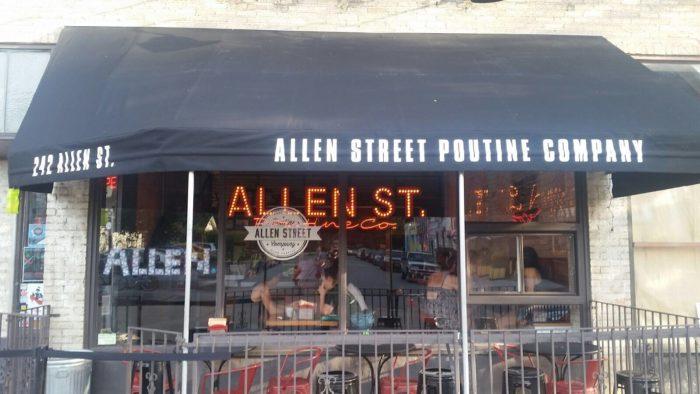 1 Allen St Poutine Company 242 Street