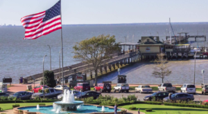 Experience A Spectacular View While Dining At This Pier Restaurant In Alabama