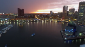 What This Drone Footage Caught In Baltimore Is Breathtaking