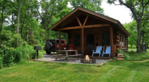 This Log Cabin Campground In New York Just May Be Your New Favorite Destination