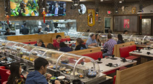 There Is Such A Thing As A Conveyer Belt Restaurant In Colorado… And It Is As Epic As It Sounds