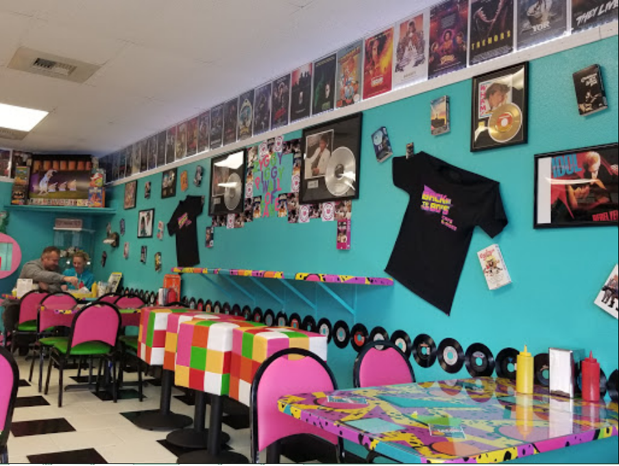 Back To The 80s Is An 80s Themed Cafe In Northern California