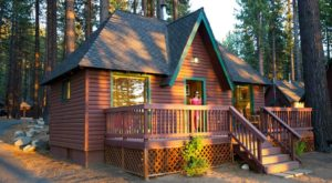 This Log Cabin Campground In Nevada May Just Be Your New Favorite Destination