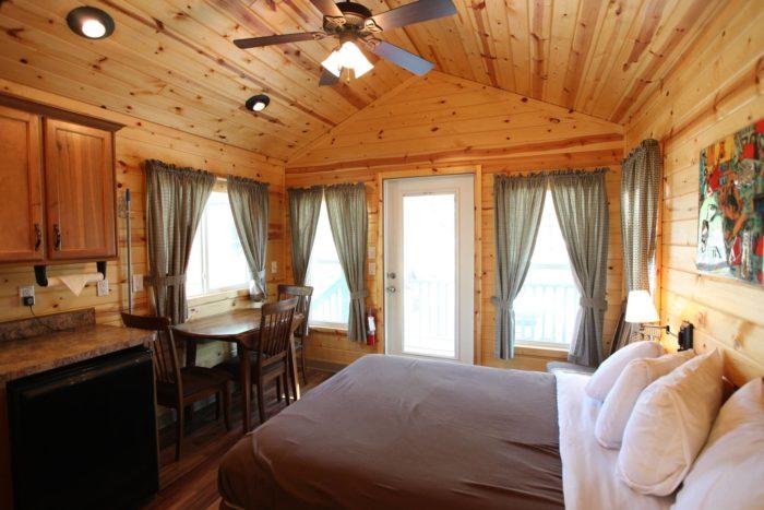 Virginia Beach Koa Is The Best Log Cabin Campground In