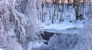In 1998, Maine Plunged Into An Arctic Freeze That Makes This Year's Winter Look Downright Mild