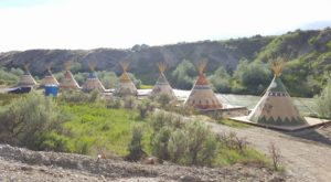 Catch Your Own Supper And Sleep In A Teepee At This Native American-Themed Wyoming Resort