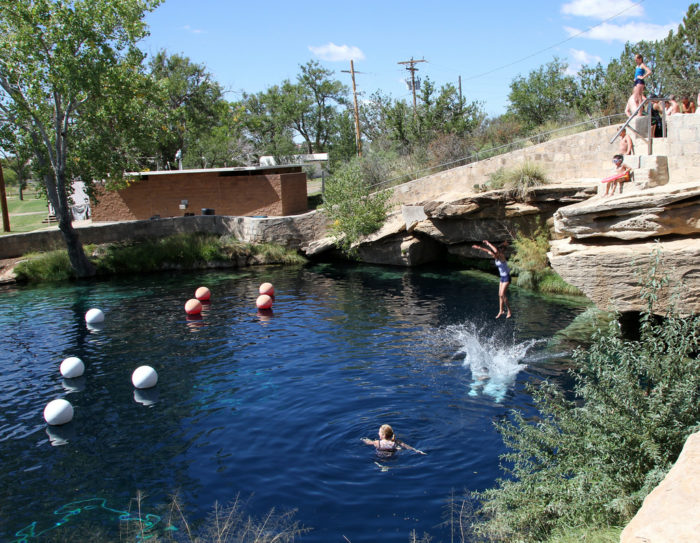 You Ll Want To Swim In The Blue Hole In Santa Rosa New Mexico