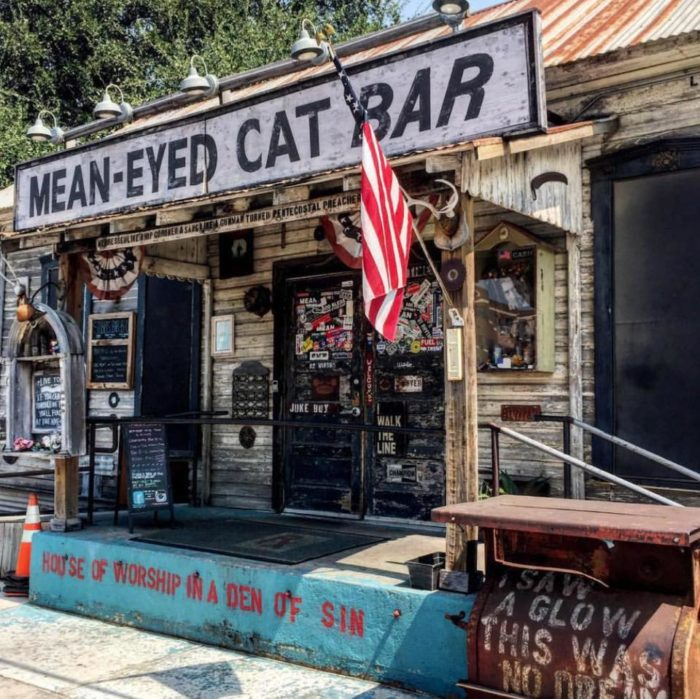 Mean Eyed Cat Is The Best Johnny Cash Themed Bar In Austin