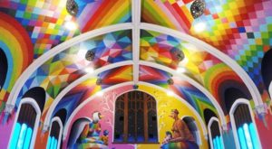 The Colorful Colorado Church That May Just Be The Most Bizarre In The Country