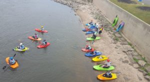 Most People Don't Know There's a Kayak Park Hiding In Iowa