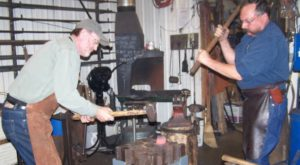 Few People Know There's A Real, Functioning Blacksmith Shop In Wyoming