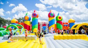 The Biggest Bounce House In The World Is Coming To Denver And It's Going To Be A Blast