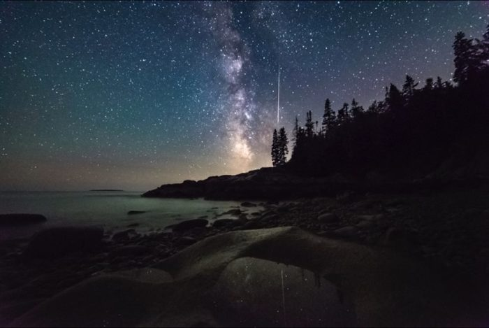 Stargazing At Acadia National Park In Maine Is An