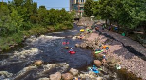 Most People Don't Know There's a Kayak Park Hiding In Wisconsin