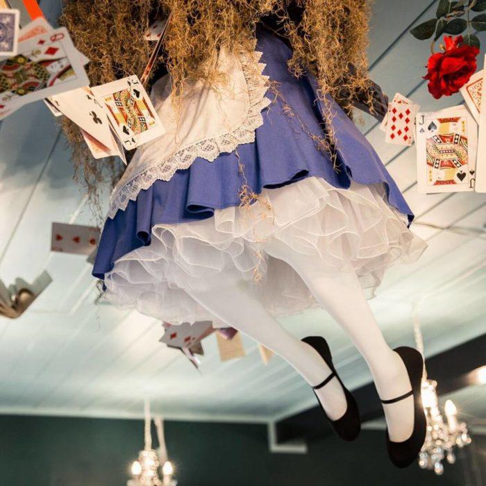 This Alice In Wonderland Tea Room In Mystic Connecticut Is