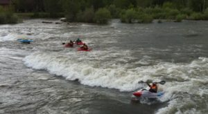 Most People Don't Know There's A Kayak Park Hiding In Montana