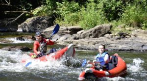 Most People Don't Know There's a Kayak Park Hiding In Pennsylvania