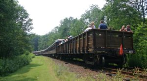 You'll Want To Board This Scenic Railcar Near Pittsburgh For An Unforgettable Adventure