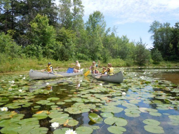 Schlitz Audubon Nature Center Trails