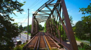 Most People Don't Know The Story Behind Massachusetts' Abandoned Bridge To Nowhere